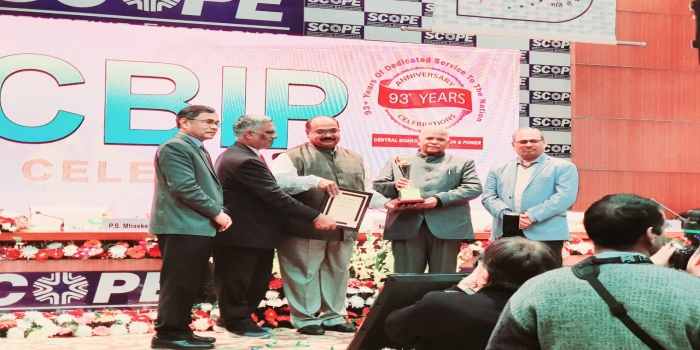 Hirakud Dam Awarded as Best-Maintained Project by CBIP