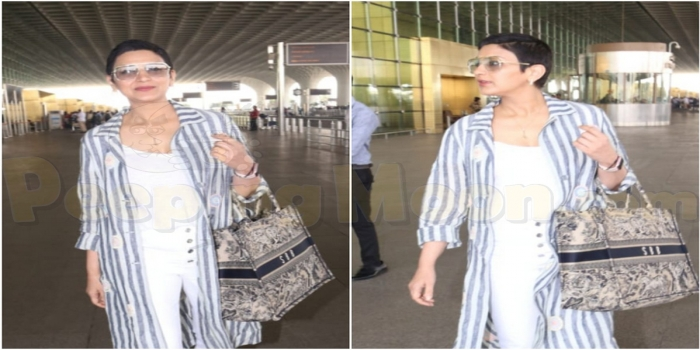 Sonali Bendre Returns to India After Battling Cancer