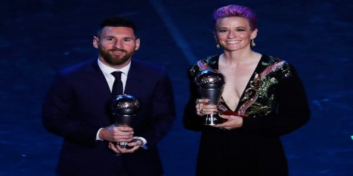 Lionel Messi Wins Ballon d'Or for Record Sixth Time, Megan Rapinoe Bags Her First
