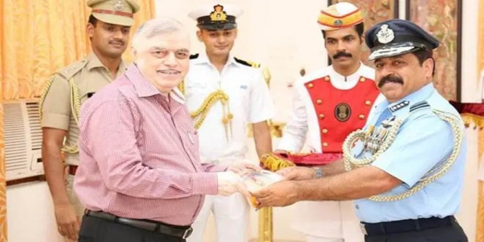 Air Marshal RKS Bhadauria Appointed New Chief of IAF