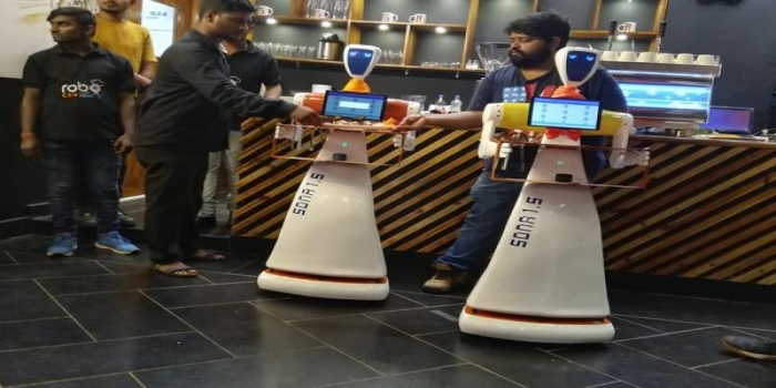 'Champa' & 'Chameli' Robots to Serve You When You Visit this Restaurant in Bhubaneswar