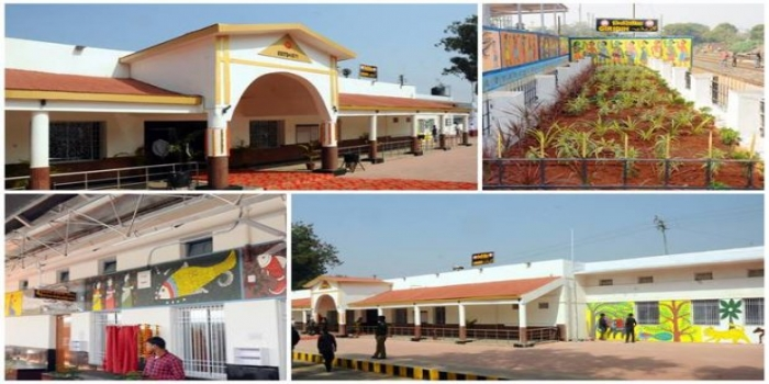 Indian Railways Giridih Station Beautified and Redeveloped with Modern Passenger-Friendly Facilities
