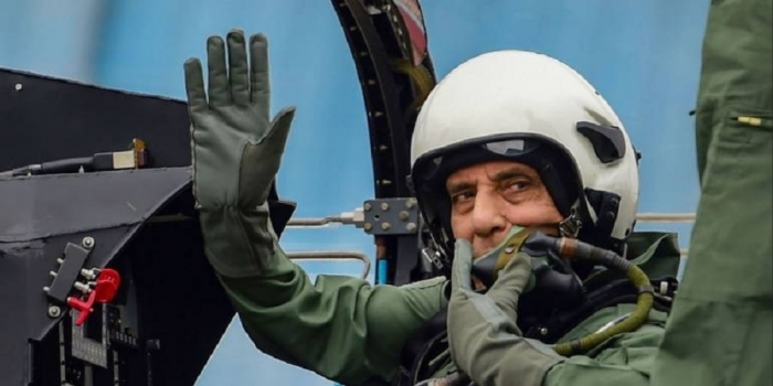 Rajnath Singh Becomes First Defence Minister to Fly in Tejas Aircraft