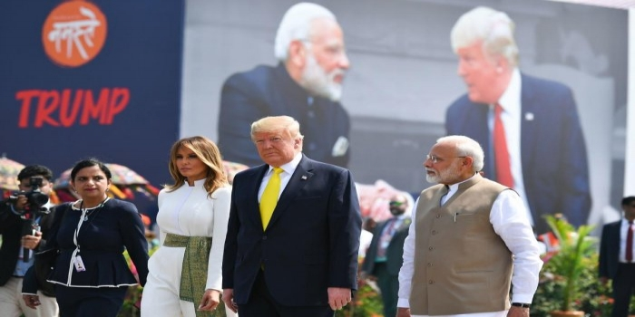 'America Loves, Respects India': Trump Said in His Opening Remark at Motera Stadium