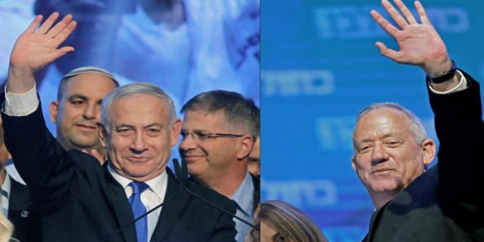 Israel's Dramatic Post-Election Scenario: Netanyahu Calls on Gantz to Form Unity Government Together