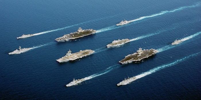 Indian Navy's Long-Term Plan is to Acquire Three Aircraft Carriers
