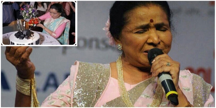 Veteran Singer Asha Bhosle Celebrates 86th Birthday in Dubai with Close Friends and Family