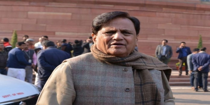 Ahmed Patel Welcomes Govt's Decision to Cut Allowances of  MPs'