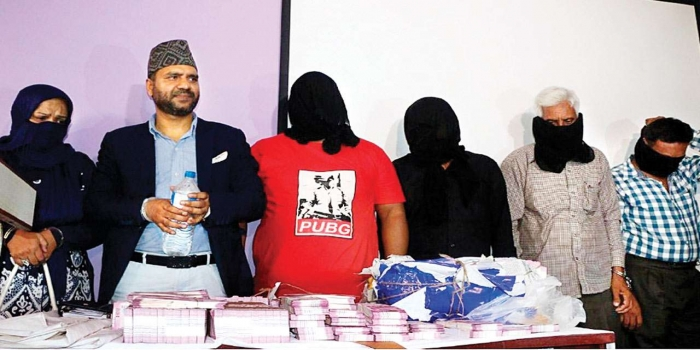 Dawood Aide, 3 Pakistanis Held with Fake Indian Currency Worth Rs.7.5 Crore in Nepal
