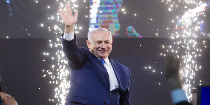 Netanyahu Declares 'Tremendous Victory' As Results Show Clear Win