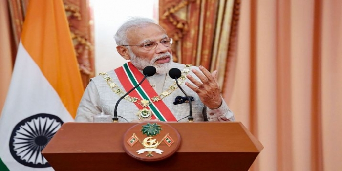 PM Modi Offered to Help in the Conservation of Maldives' Friday Mosque in His Historic Speech at 'The People's Majlis'