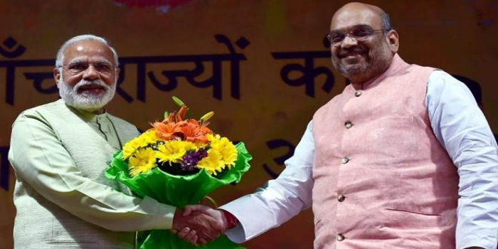 PM Modi Congratulates Amit Shah After Lok Sabha Passes Citizenship (Amendment) Bill