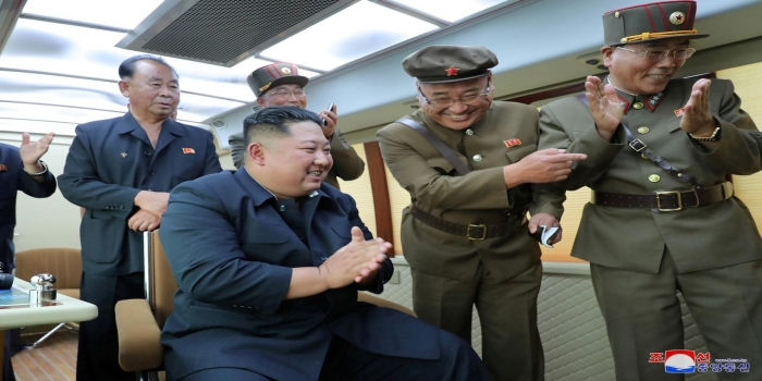 North Korea's Kim Jong Un Oversaw Test-Firing of New Weapon Again