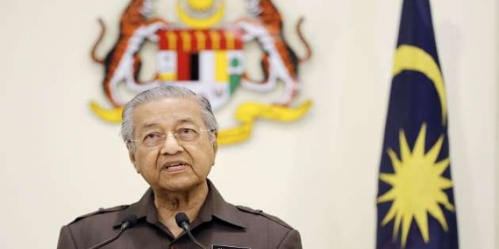 Malaysian Prime Minister Mahathir Mohamad Submits Resignation