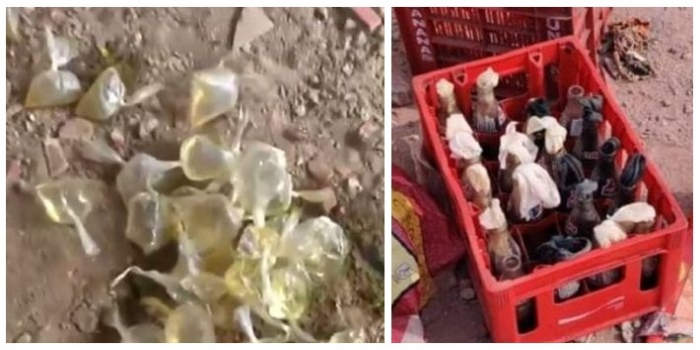 Not Just Petrol Bombs, Acid Packets Also Found On AAP Neta Tahir Hussain's Terrace