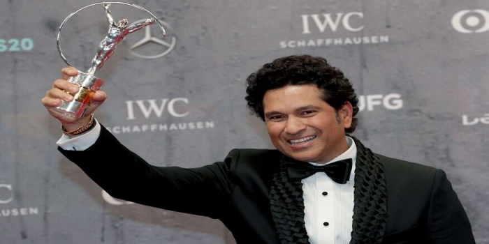 Master Blaster Sachin Tendulkar Win Laureus Sporting Moment Award for 2011 WC Triumph