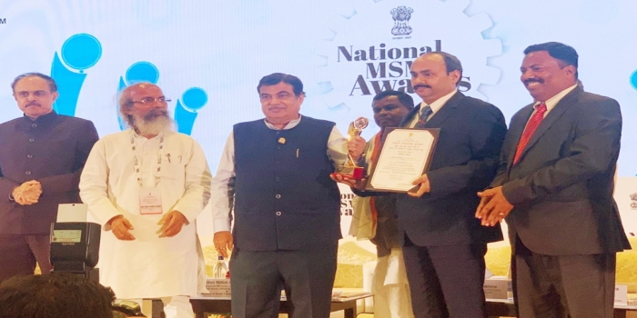 Odisha Bagged First Prize at National Level for Outstanding Performance in MSME Sector