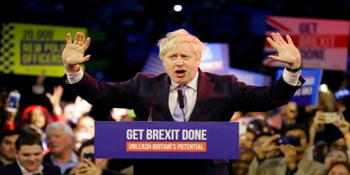 Boris Johnson Wins Huge in UK Election