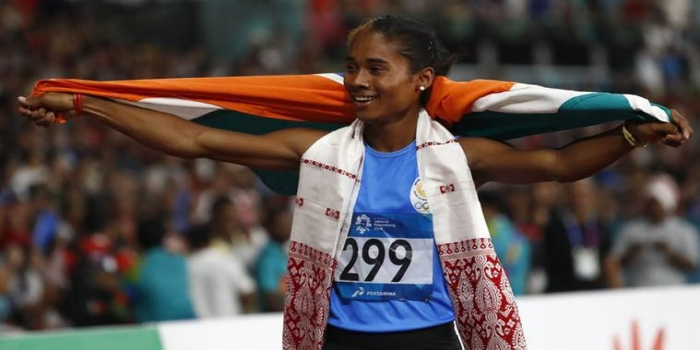 Ace Sprinter Hima Das Earns Fifth Gold in 18 Days at Athletics Meet in Czech Republic