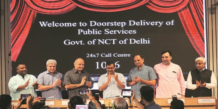 30 More Services in Delhi's Doorstep Delivery Scheme