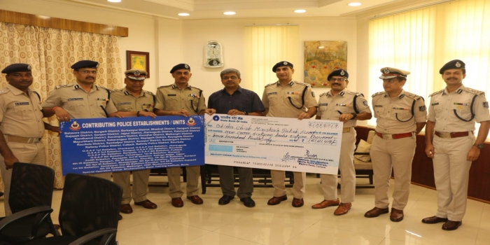 Odisha Police Contributes Rs 1.61 Crore to CMRF