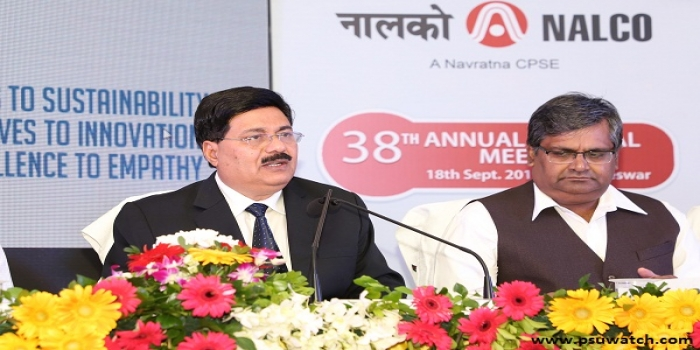 National Aluminium Company Limited Declares Record 115% Dividend Payout of Rs 1072.73 Crore for 2018-19