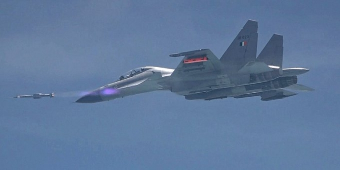 DRDO Successfully Conducts Five Trials of Air-to-Air Missile 'Astra'