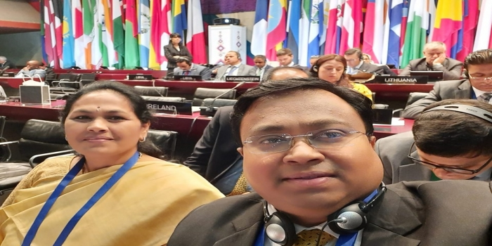 Young MP from Odisha Makes His Mark in the Global Inter-Parliamentary Union Conference at Belgrade