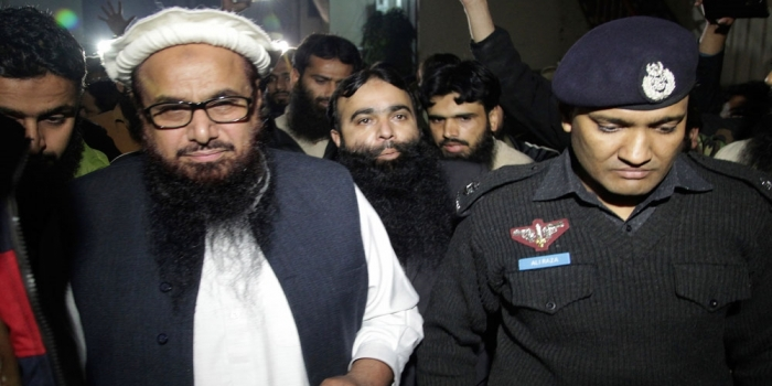 LeT Chief Hafiz Saeed Arrested in Pakistan Ahead of Trump-Imran khan Meeting