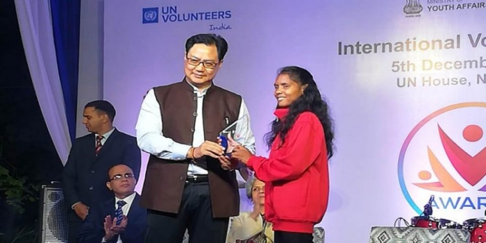 Tribal Girl from Odisha's Kandhamal Receives UN Award